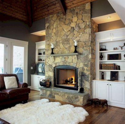 Wood Burning Fireplace Design Ideas