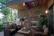 Backyard Living Space Design Ideas 25