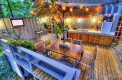 Backyard Living Space Design Ideas 9