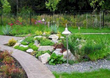 Gorgeous Rock Garden Ideas 10