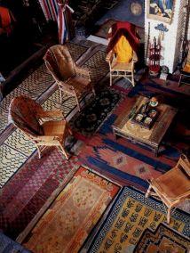 Living Room Rug Layering 112
