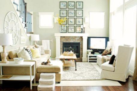 Living Room Rug Layering 113