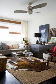Living Room Rug Layering 118