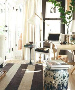 Living Room Rug Layering 124