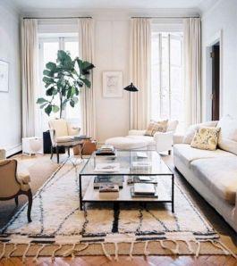 Living Room Rug Layering 126