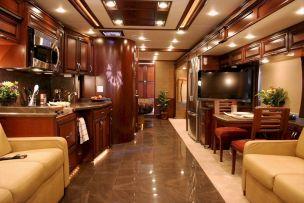 Luxurious RVs Interior 117