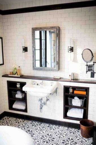 Modern Vintage Bathroom Ideas 23