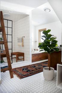 Modern Vintage Bathroom Ideas 6