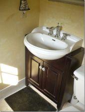 Small Bathroom Flat Sink Ideas 17