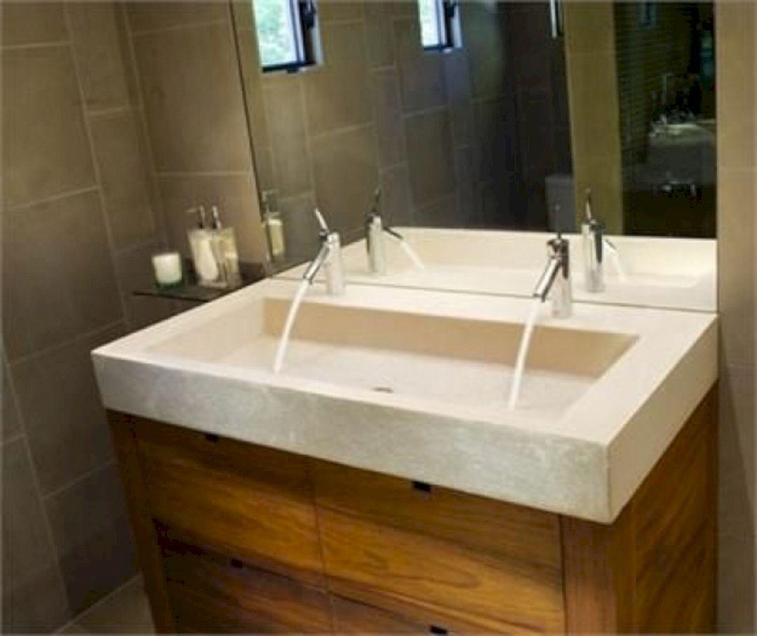 Small Bathroom Flat Sink Ideas 20