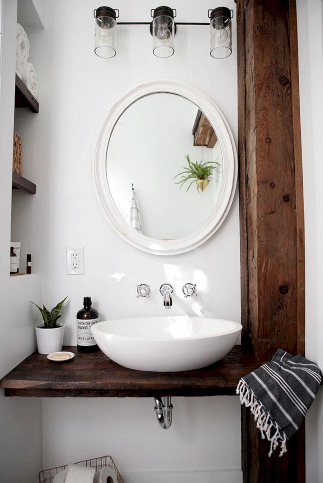Small Bathroom Flat Sink Ideas 22
