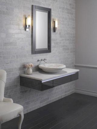 Small Bathroom Flat Sink Ideas 25
