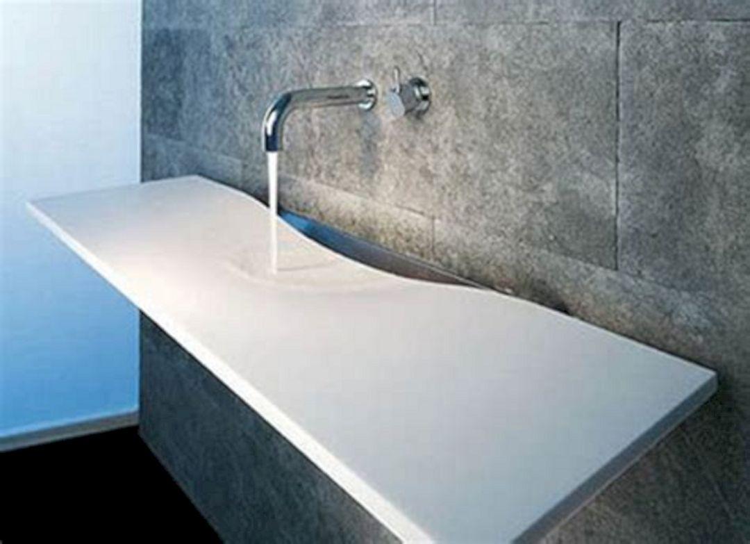 Small Bathroom Flat Sink Ideas 3