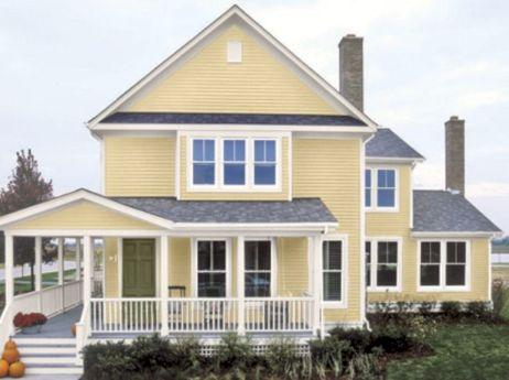Exterior House Paint Color Schemes 13