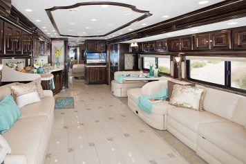 Luxurious Motorhomes Interior Design 15