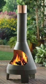 Mid Century Modern Outdoor Fireplace 10