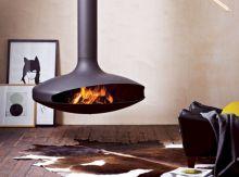 Mid Century Modern Outdoor Fireplace 27