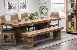 Modern Farmhouse Kitchen Tables 14