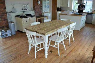 Modern Farmhouse Kitchen Tables 17
