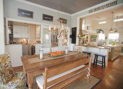 Modern Farmhouse Kitchen Tables 19