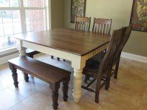 Modern Farmhouse Kitchen Tables 20