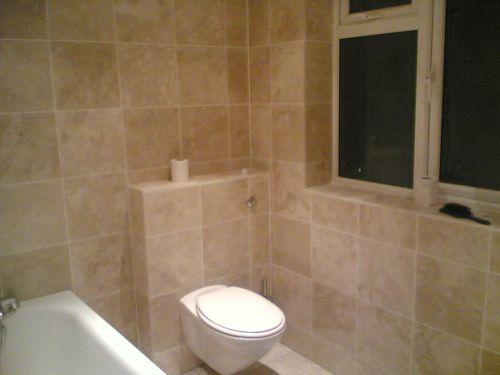 Natural Bathroom Tile Ideas 11