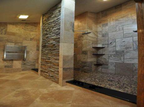 Natural Bathroom Tile Ideas 12