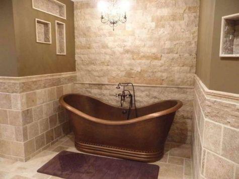 Natural Bathroom Tile Ideas 25