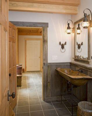 Rustic Bathroom Decorating Ideas 10