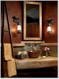 Rustic Bathroom Decorating Ideas 13