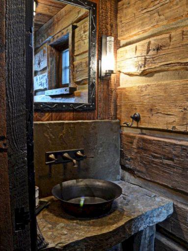 Rustic Bathroom Decorating Ideas 14