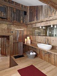 Rustic Bathroom Decorating Ideas 17