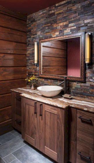 Rustic Bathroom Decorating Ideas 27