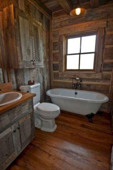 Rustic Bathroom Decorating Ideas 8
