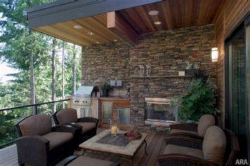 Backyard Living Space Design 3
