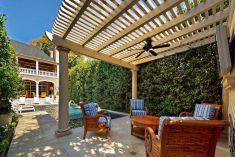 Backyard Living Space Design 8