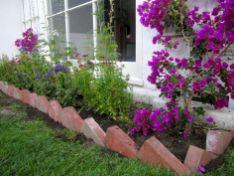Brick Flower Bed Ideas 10
