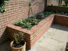 Brick Flower Bed Ideas 11