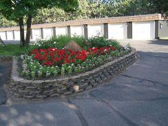 Brick Flower Bed Ideas 12