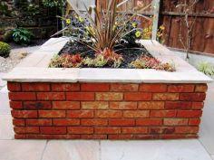 Brick Flower Bed Ideas 16