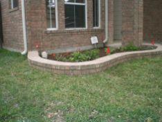 Brick Flower Bed Ideas 24