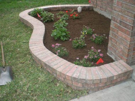 Brick Flower Bed Ideas 28