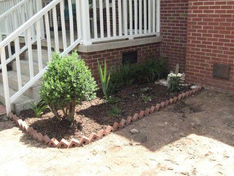 Brick Flower Bed Ideas 3