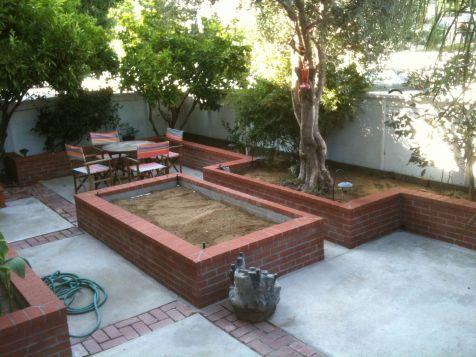 Brick Flower Bed Ideas 7