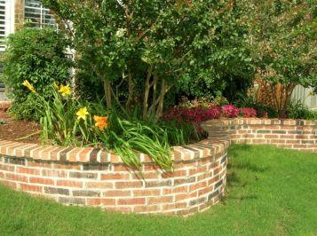 Brick Flower Bed Ideas 8