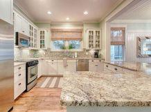Coastal Farmhouse Kitchen Design 28