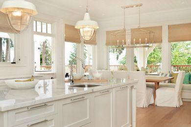 Coastal Farmhouse Kitchen Design 7