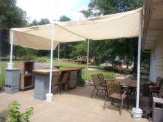 DIY Backyard Shade Structure 17