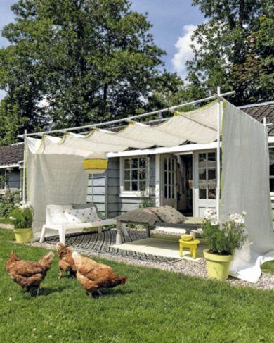 DIY Backyard Shade Structure 24