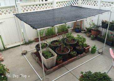DIY Backyard Shade Structure 28